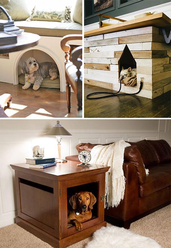Собачьи места в интерьере