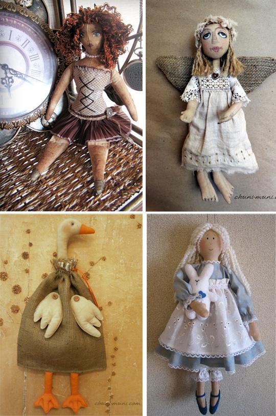 чердачные игрушки
