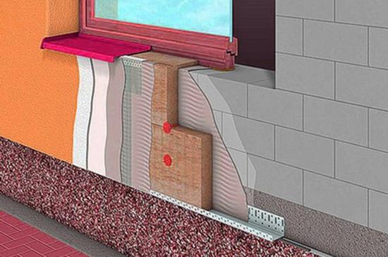 "Система утепление стен ""мокрый фасад"""