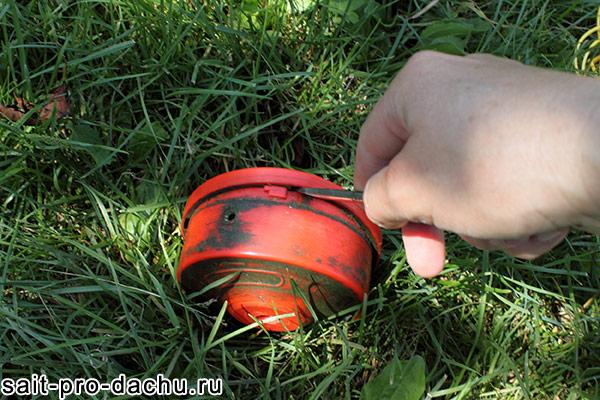 катушка с леской для триммера
