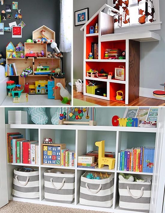 Модульная мебель для хранения игрушек