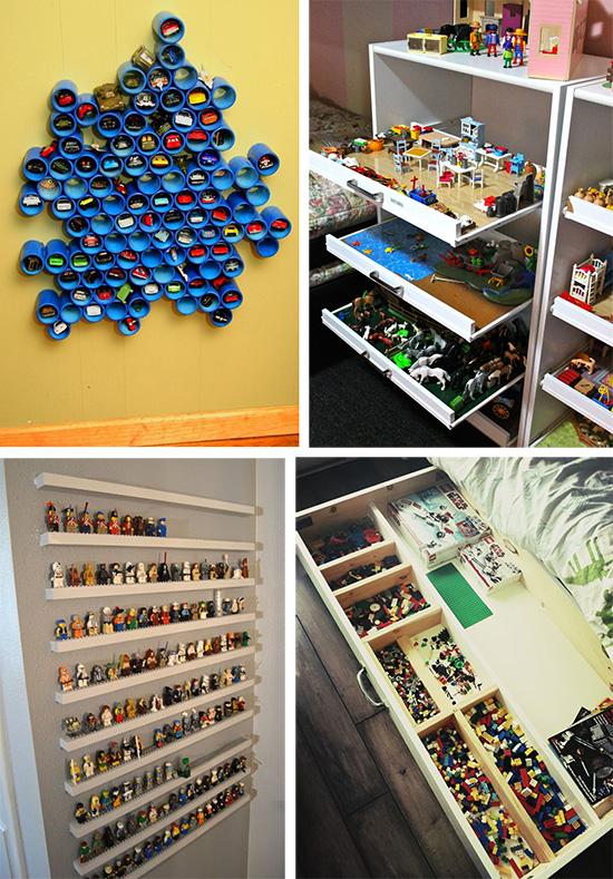Как хранить мелкие игрушки