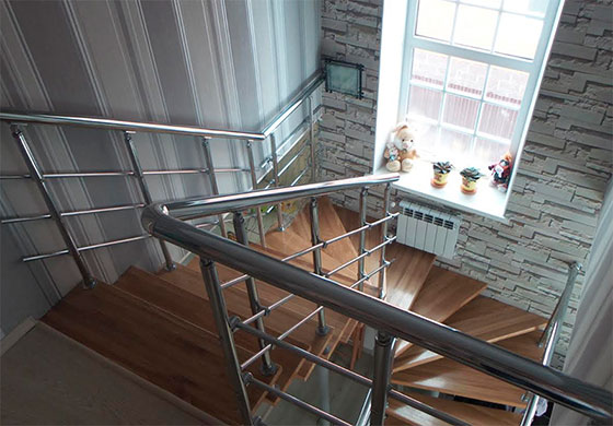 фото модной лестницы