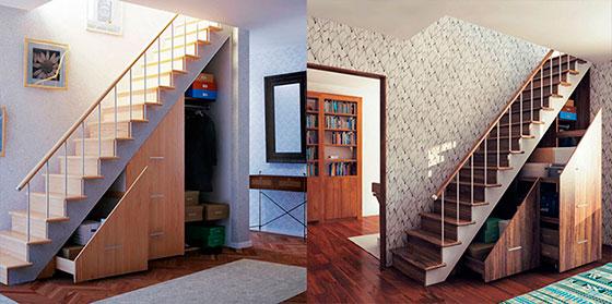 зашивка лестницы
