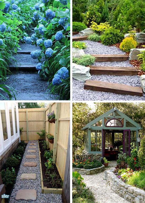 Красивые насыпные дорожки для вашего сада