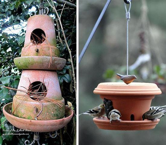 Дачные скворечники и кормушка для птиц
