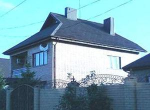 Вид с крыши дома