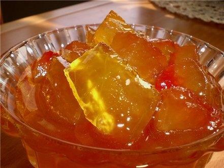 Варенье яблочное с апельсином и корицей