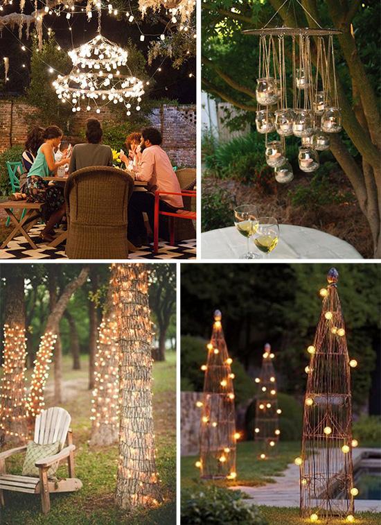 Идеи праздничного освещения