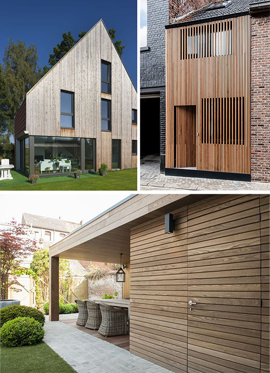 Эко дизайн фасадов дома