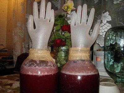 готовим домашнее вино из винограда