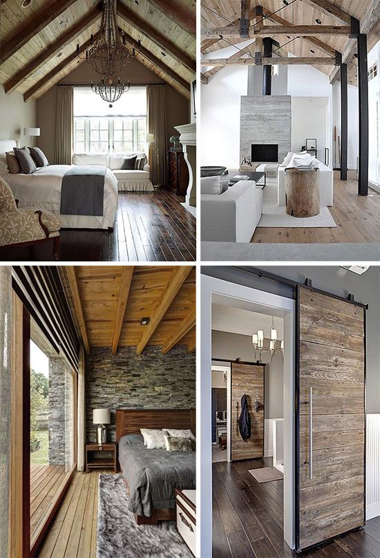 Интерьер дома в эко стиле