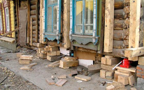 как восстановить фундамент под домом