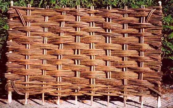 Оградки из ивы