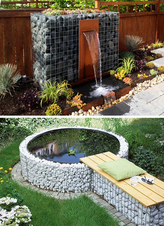 Фонтан и бассейн
