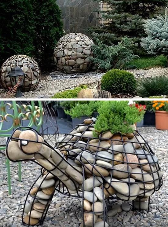 Украшения в саду