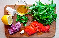 Блюда из овощей вкусное блюдо