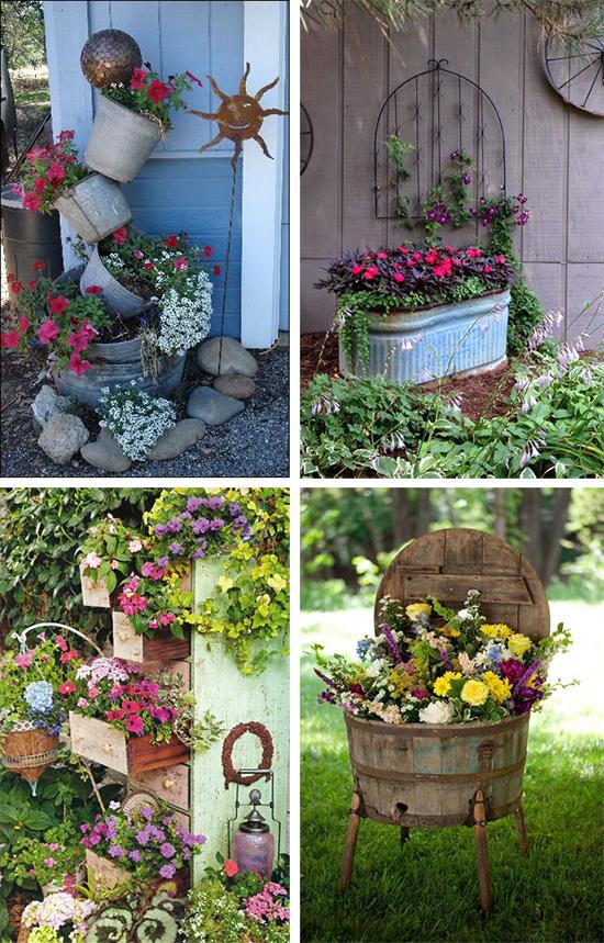 Красивые идеи для садовых клумб
