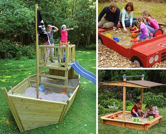 Проекты дачных песочниц для детей