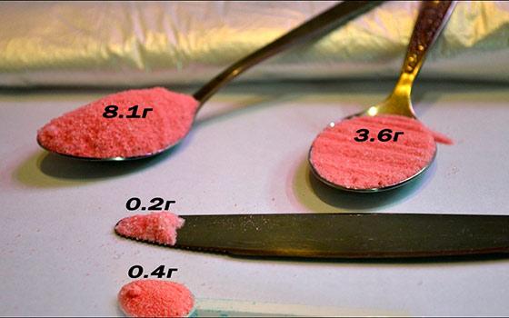 Чем отмерить 1 грамм в домашних условиях 398