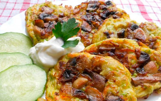 Рецепты оладьев из кабачков вкусные