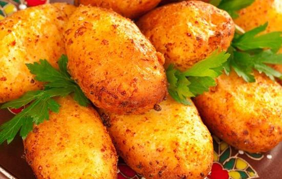 Зразы картофельные с начинкой