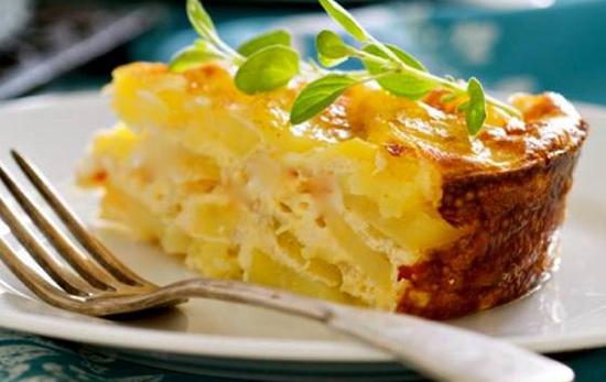 Картофельный гратен с ароматной сырной корочкой