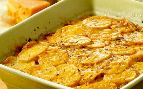 Картофельная запеканка с грибами в духовке рецепт с фото пошагово