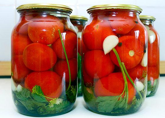 рецепты помидоров на зиму можете оставить
