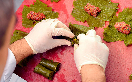 виноградные листья польза и вред