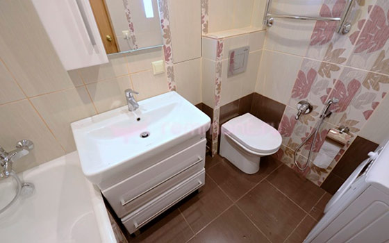 Отделка маленькой ванной комнаты плиткой фото дизайн