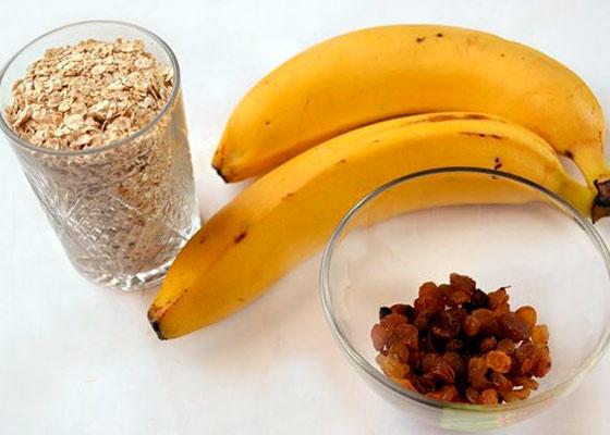 Овсяные печенья с бананом в домашних условиях 264