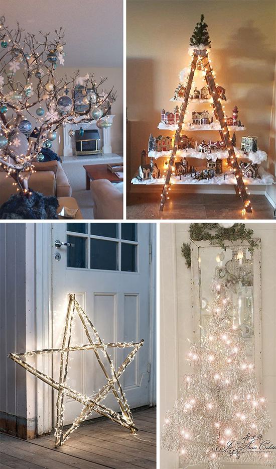 Украшаем светящимися гирляндами домашний интерьер