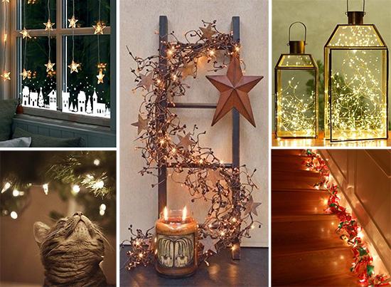 Рождественские украшения в домашнем интерьере
