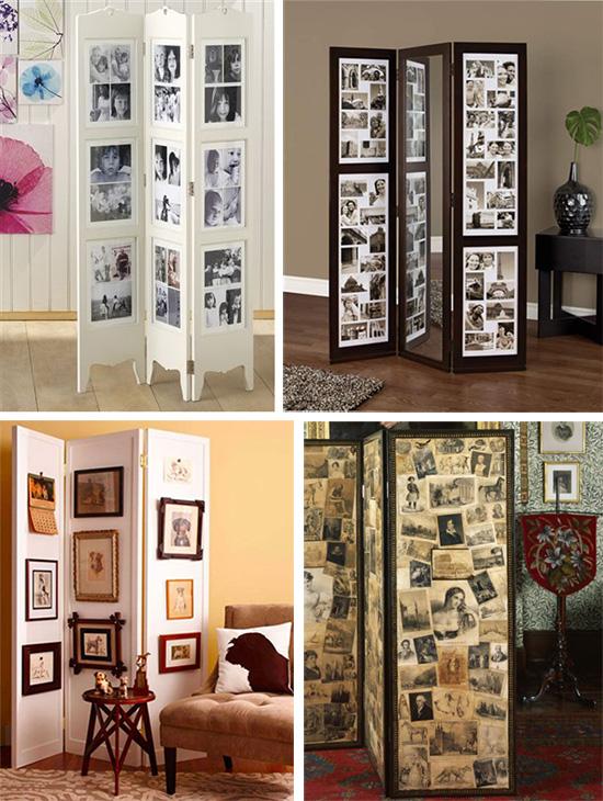 Рукотворный дизайн комнатной ширмы