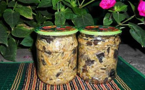 Отличные рецепты заготовок баклажанов на зиму