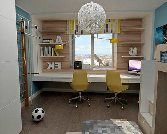 Интерьер детской комнаты для мальчиков: фото топ-10 идей.