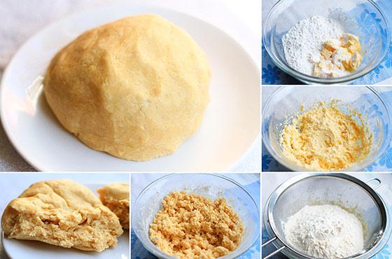 Простое песочное тесто в домашних условиях