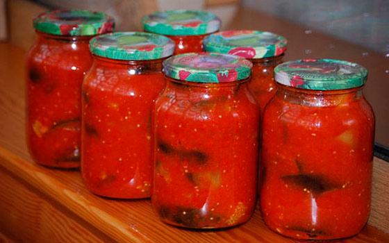салат на зиму перец в томатном соке про минет нашими