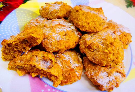 Тыквенное печенье рецепт с фото высоцкая